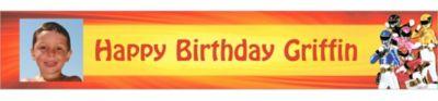 Power Rangers Megaforce Custom Photo Banner