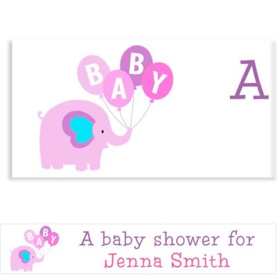 Animals with Girl Balloons Custom Banner