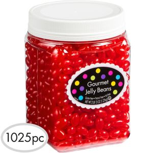Red Jelly Beans 1025pc