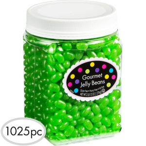 Kiwi Green Jelly Beans 1100pc