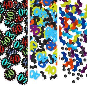 Celebrate 40th Birthday Confetti 1.2oz