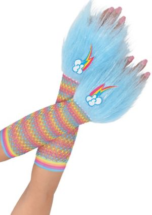 Rainbow Dash Glovelettes - My Little Pony