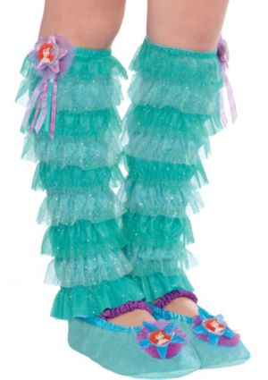Child Ariel Leg Warmers - The Little Mermaid