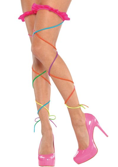 Electric Party Leg Wraps