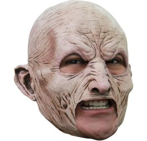 Chinless Zombie Mask - World War Z