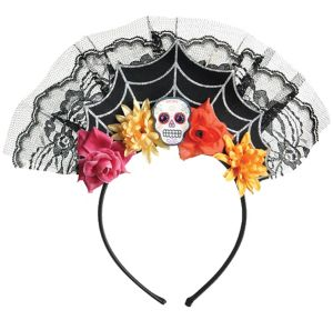 Day of the Dead Tiara Headband
