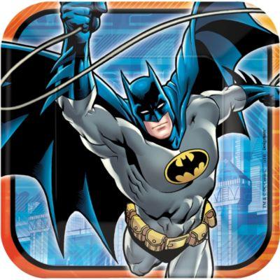 Batman Lunch Plates 8ct