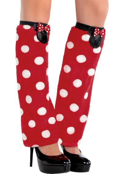 Minnie Mouse Leg Warmers