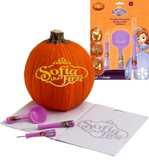 Sofia the First Pumpkin Carving Kit 10pc