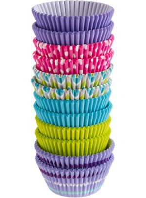 Wilton Pastel Dot & Chevron Baking Cups 300ct