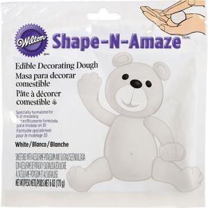 White Edible Decorating Dough