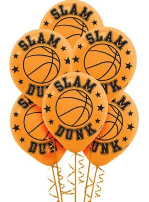 Basketball Balloons 6ct