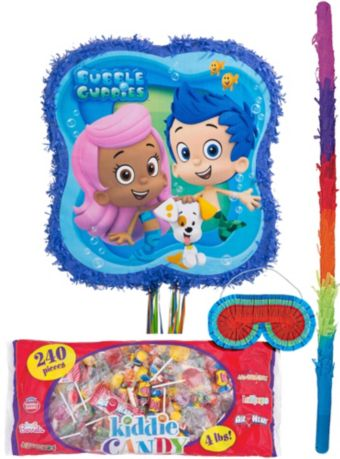 Pull String Bubble Guppies Pinata Kit