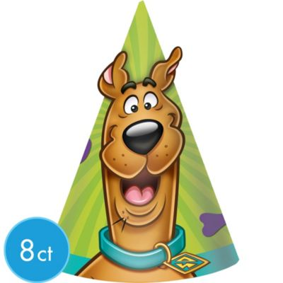 Scooby-Doo Party Hats 8ct
