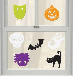 Cute Halloween Gel Cling Decals 7ct