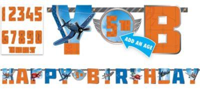 Planes Birthday Banner