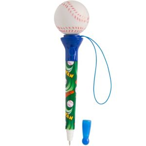 Pop-Top Baseball Pen