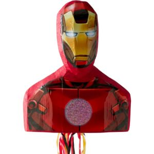 Pull String Iron Man Pinata