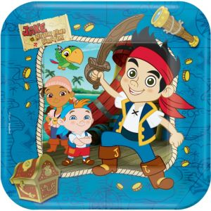 Jake and the Never Land Pirates Lunch Plates 8ct