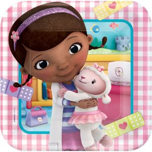 Doc McStuffins Lunch Plates 8ct
