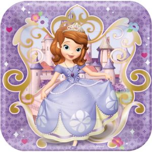 Sofia the First Lunch Plates 8ct