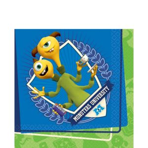 Monsters University Lunch Napkins 16ct