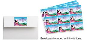 Custom Minnie Mouse Sticker