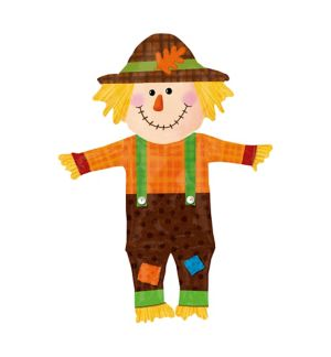 Happy Scarecrow Balloon - Giant