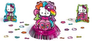 Rainbow Hello Kitty Table Decorating Kit 23pc