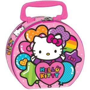 Rainbow Hello Kitty Tin Box
