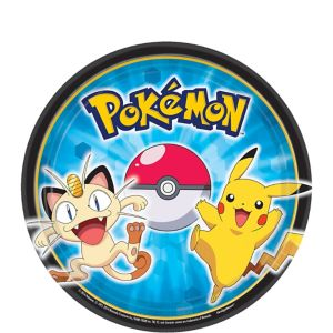 Pokemon Dessert Plates 8ct
