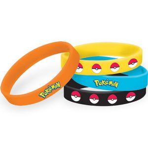 Pokemon Wristbands 4ct