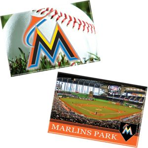 Miami Marlins Magnets 2ct