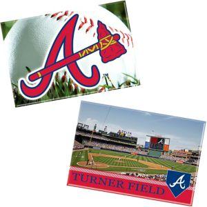 Atlanta Braves Magnets 2ct