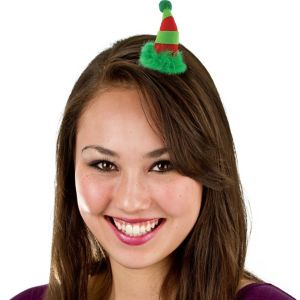 Holiday Hat Hair Clip