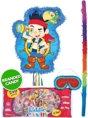 Pull String Jake and the Never Land Pirates Pinata Kit