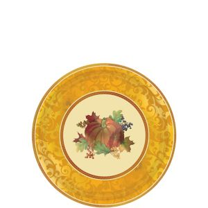 Bountiful Holiday Dessert Plates 8ct