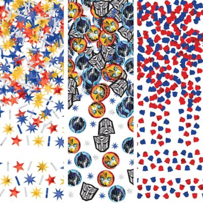 Transformers Confetti