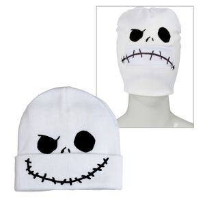 Jack Skellington Roll-Down Mask Beanie - The Nightmare Before Christmas