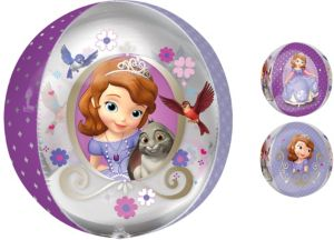 Sofia the First Balloon - Orbz