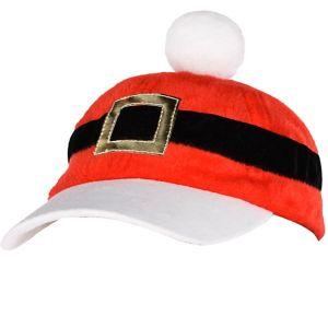 Santa Baseball Hat