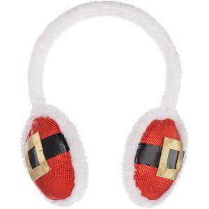 Santa Belt Earmuffs