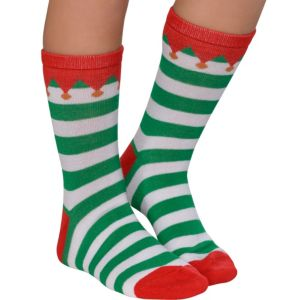 Child Elf Crew Socks
