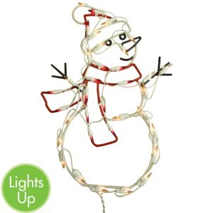 Light-Up Snowman