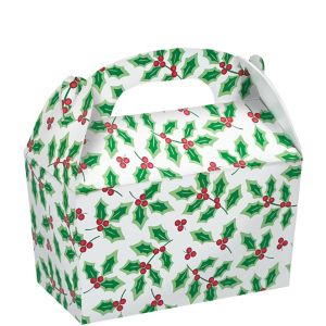 Holly Treat Boxes 5ct