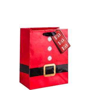 Santa Suit Christmas Gift Bag