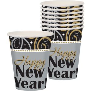 Sparkling New Year's Cups 8ct