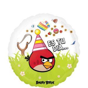 Felicidades Angry Birds Balloon