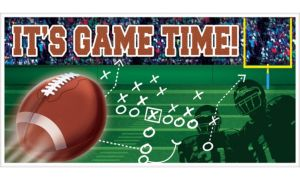 Game Time Football Banner