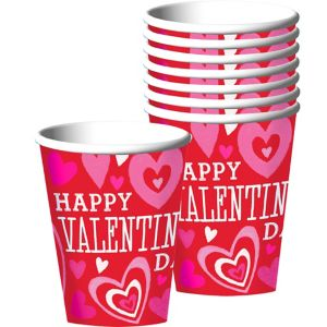 Bright Valentine's Day Cups 18ct